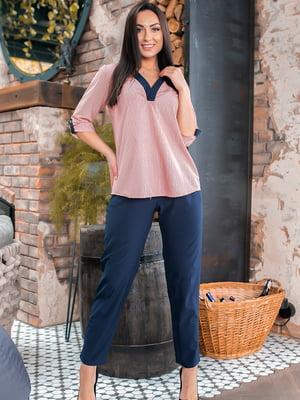 Костюм: блуза и брюки | 5445310