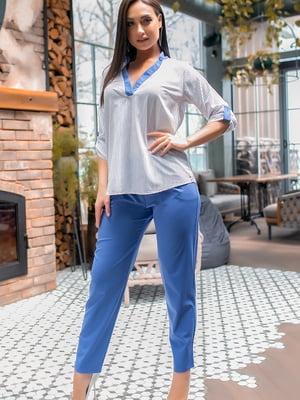 Костюм: блуза и брюки | 5445311