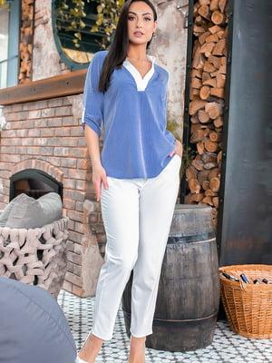 Костюм: блуза и брюки | 5445312