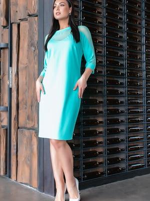 Сукня кольору м'яти | 5445315