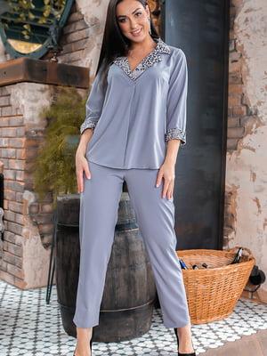 Костюм: блуза и брюки   5445330