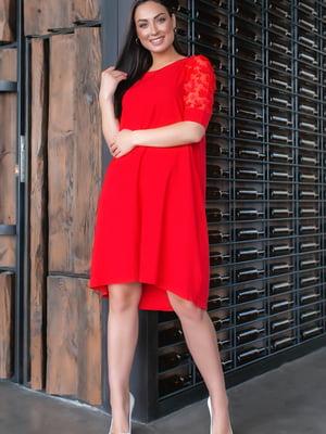 Сукня червоного кольору | 5445349