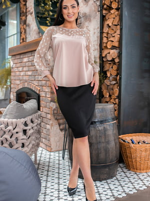 Костюм: блуза і спідниця | 5445350
