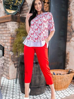 Костюм: блуза и брюки | 5445364