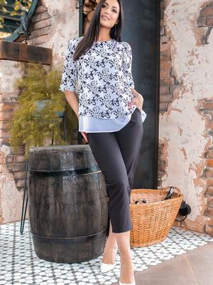Костюм: блуза и брюки | 5445365