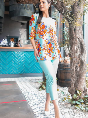 Костюм: блуза и брюки   5445369