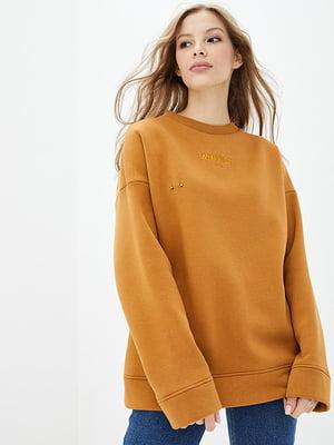 Світшот морквяного кольору | 5445395
