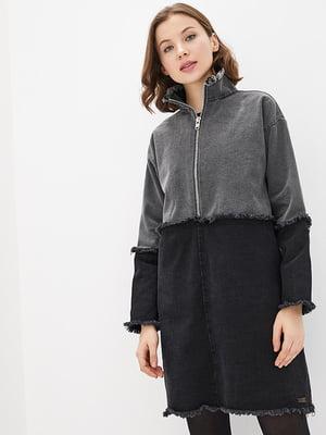 Сукня чорно-сіра | 5445400
