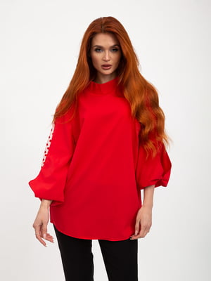 Блуза красная   5445451
