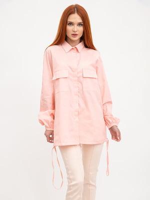 Рубашка персикового цвета | 5445614