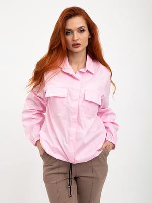 Рубашка розовая | 5445615