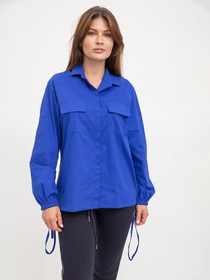 Рубашка синяя | 5445616