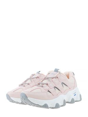 Кроссовки розово-серые | 5444642