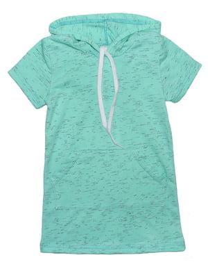 Платье ментолового цвета | 5446223