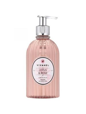 Крем-мыло для рук жидкое с ароматом лотоса и розы (350 мл) | 5356917