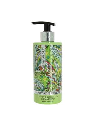Крем-мыло для рук жидкое с ароматом лимона и зеленого чая (400 мл)   5427660