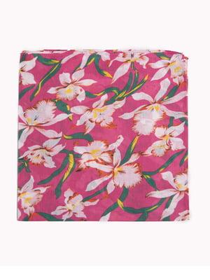 Бандана різнокольорова в квітковий принт | 5446386