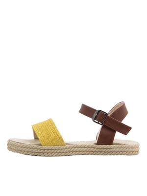Сандалі жовті | 5446494