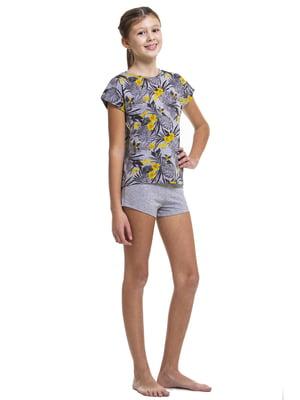 Комплект домашний: футболка и шорты | 5440780