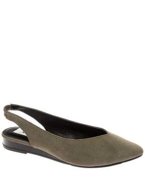Туфлі кольору хакі | 5418507