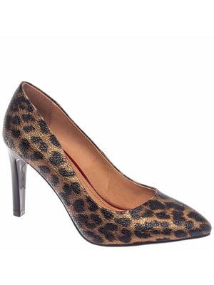 Туфлі бронзово-чорного кольору   5418772