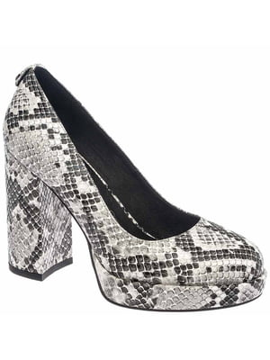 Туфли серо-черные   5418795