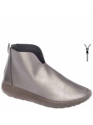 Ботинки серебристого цвета | 5418843
