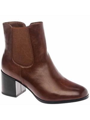 Черевики коричневі | 5418856