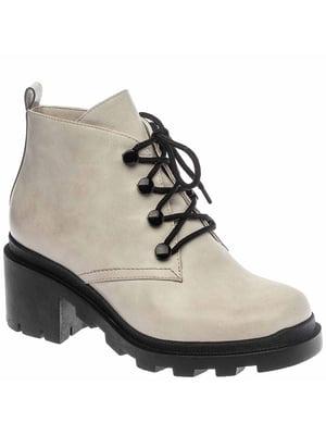 Ботинки серые | 5418860