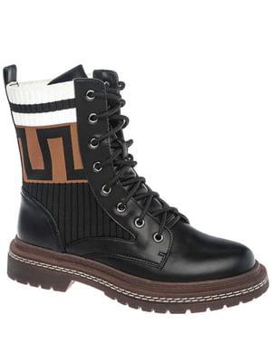 Ботинки черные | 5418861