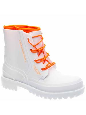 Ботинки белые | 5418907