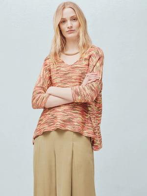 Пуловер комбінованого забарвлення | 5448497