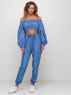 Блуза синяя | 5430724