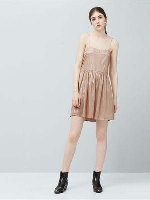 Платье бежевое | 5449043