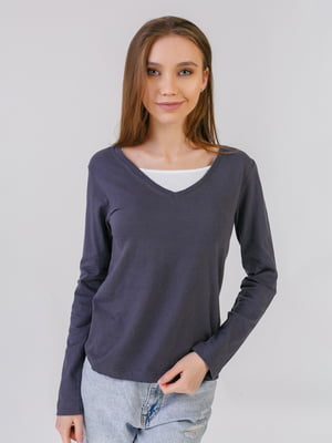 Пуловер сірий | 5441573