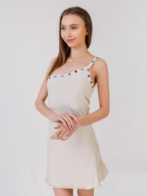 Сукня-туніка бежева | 5441593