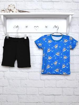 Комплект: футболка и шорты | 5450709