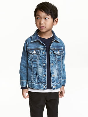 Куртка синя джинсова | 5450959