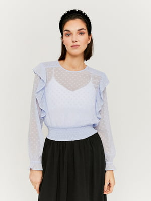 Блуза голубая   5454285