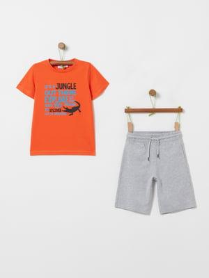 Костюм спортивный: футболка и шорты | 5436017