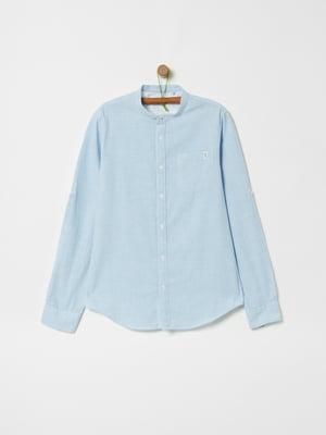 Рубашка голубого цвета | 5435513