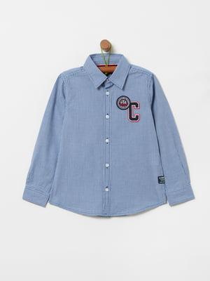 Рубашка синего цвета | 5435619