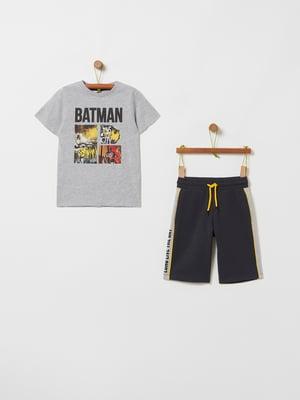 Костюм спортивный: футболка и шорты | 5435882