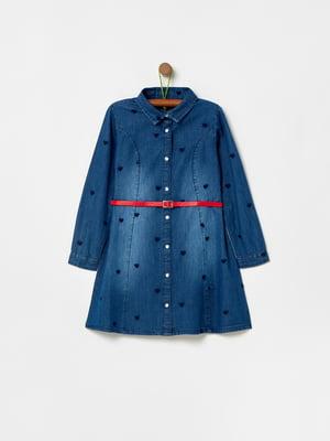 Платье синее | 5435909