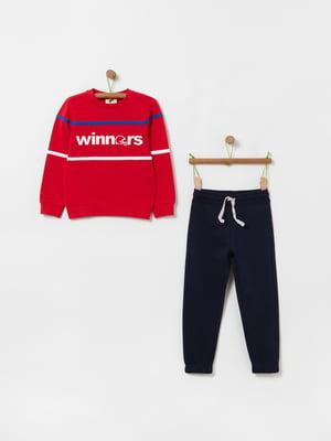 Костюм спортивный: джемпер и брюки | 5435924