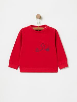 Джемпер красный   5324426