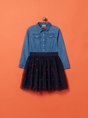 Платье синее | 5435864