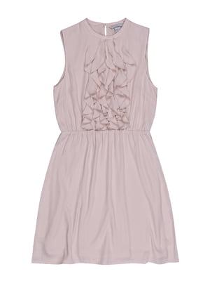 Сукня кольору пудри | 5367114
