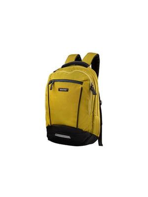Рюкзак желтый | 5455827