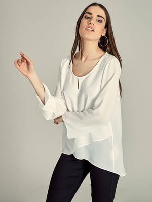 Блуза молочного цвета   5455367